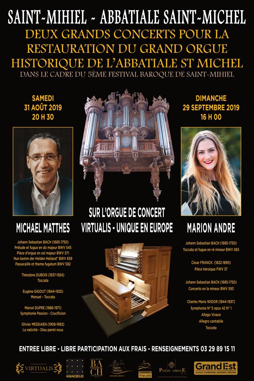 Concerts orgue